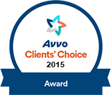 2015 Avvo Award for Anthony Chauncey, Esq.