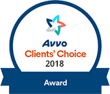 2018 Avvo Award for Anthony Chauncey, Esq.