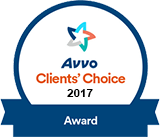 2017 Avvo Award for Anthony Chauncey, Esq.